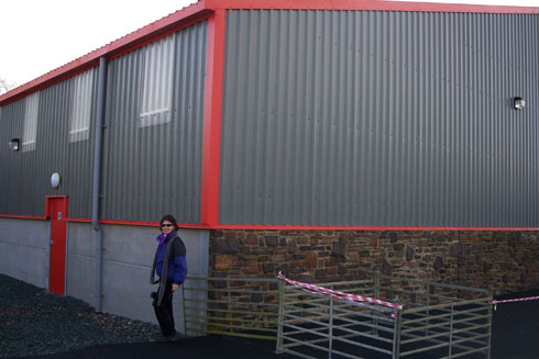 New Poultry Building in Wales